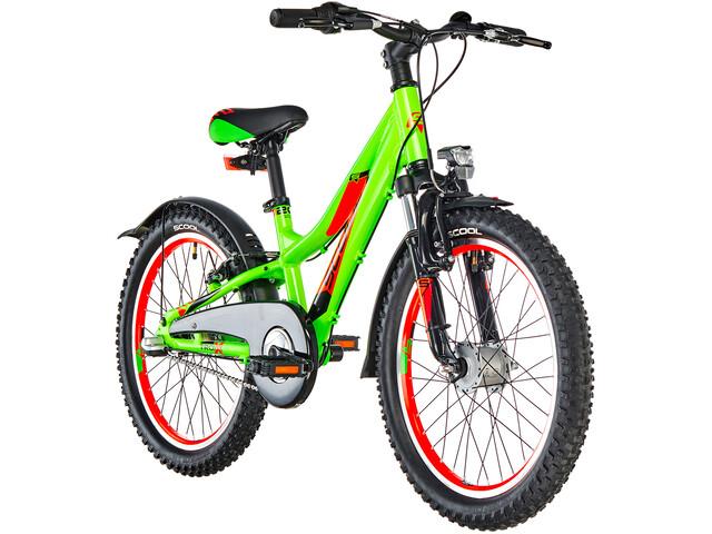 s'cool troX urban 20 3-S Børnecykel alloy grøn (2019) | City-cykler